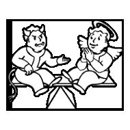 Karmic Rebalance logo from Fallout 3