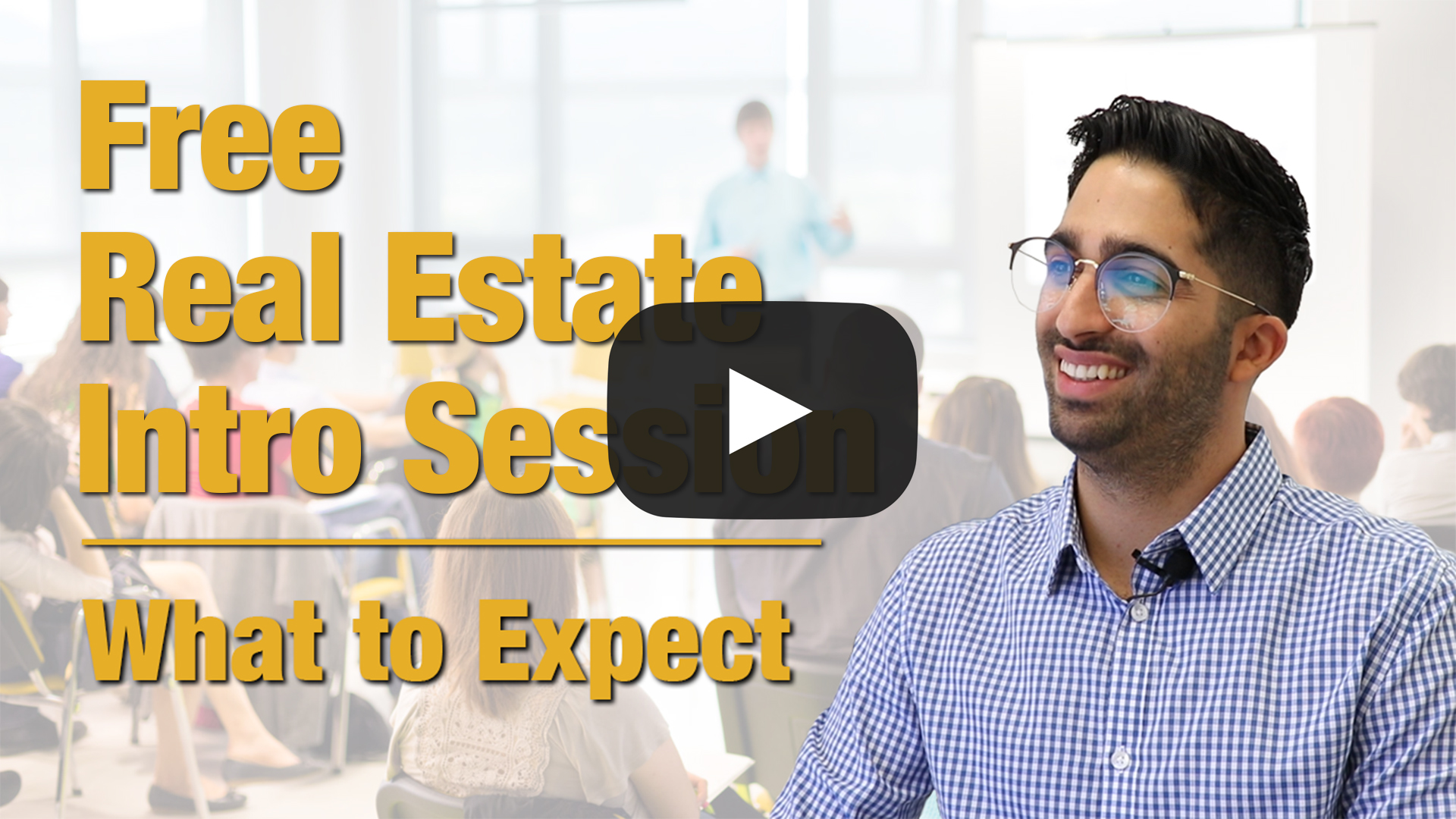 What to expect from the free real estate intro session