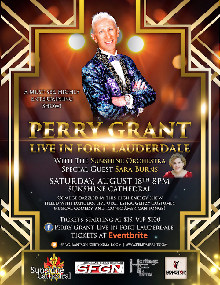 Perry Grant Live in Fort Lauderdale Event Poster