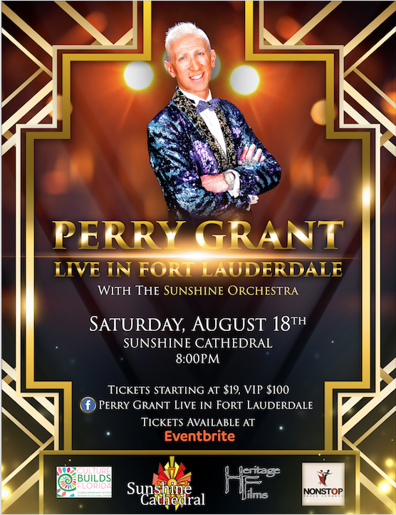 Perry Grant Concert Poster