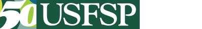 USF St. Pete 50th Anniversary Logo