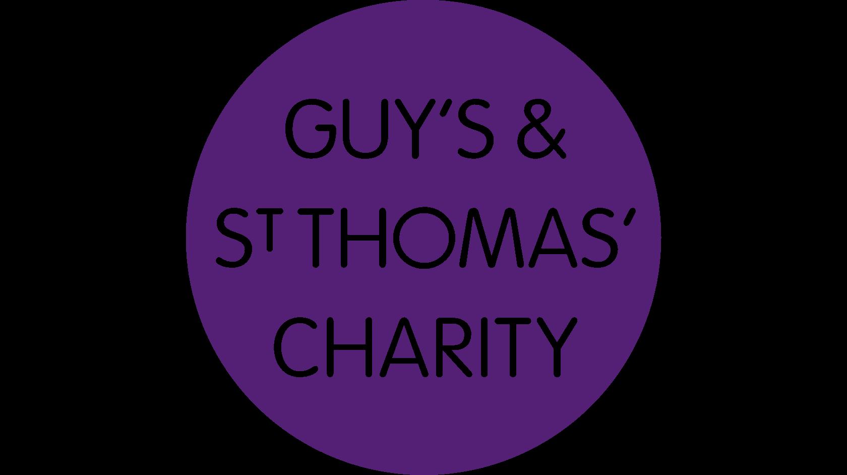 Guy's and St Thomas' charity logo