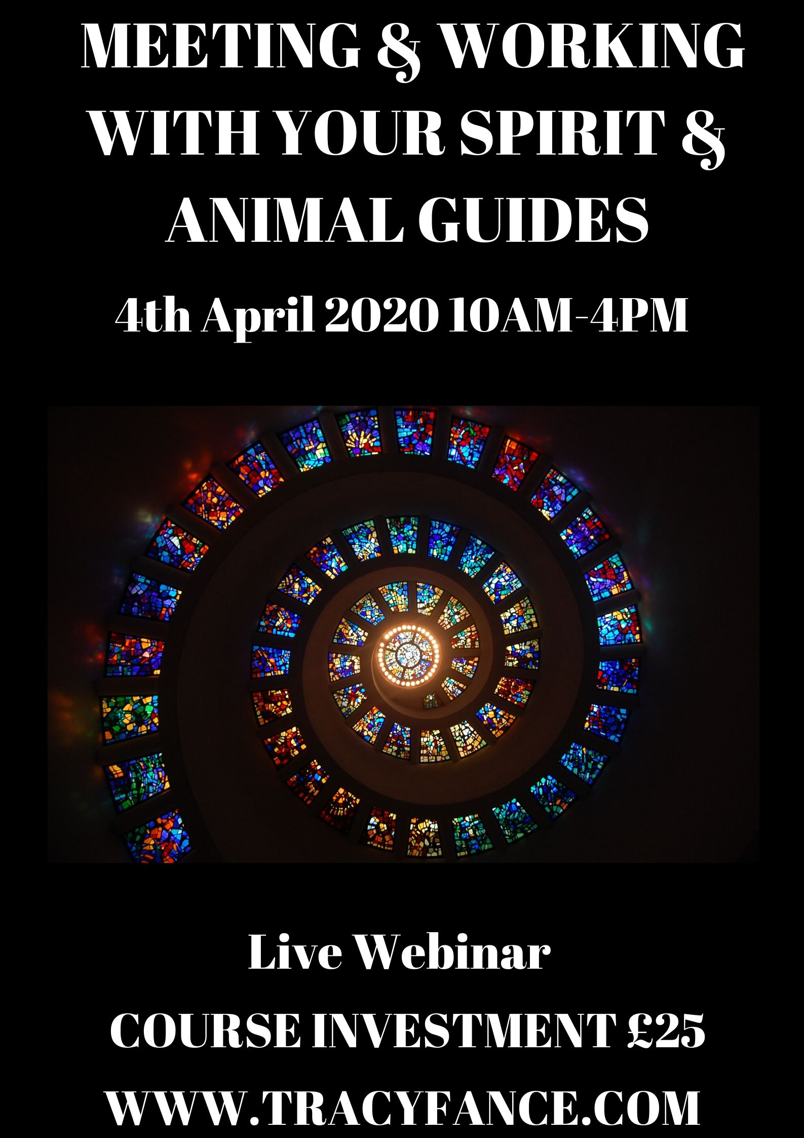 Webinar with Tracy Fance Meet Your Spirit Guides