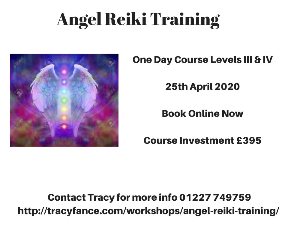 Angel Reiki Master Class with Tracy Fance