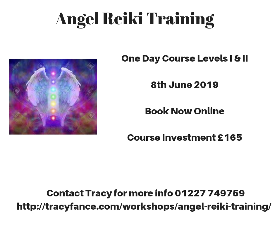 Angel Reiki Workshop Poster