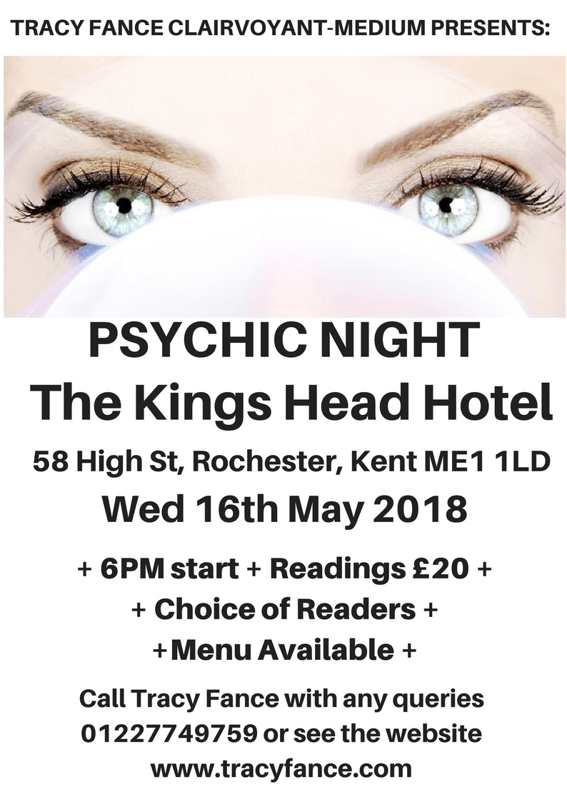 Psychic Night Poster Rochester
