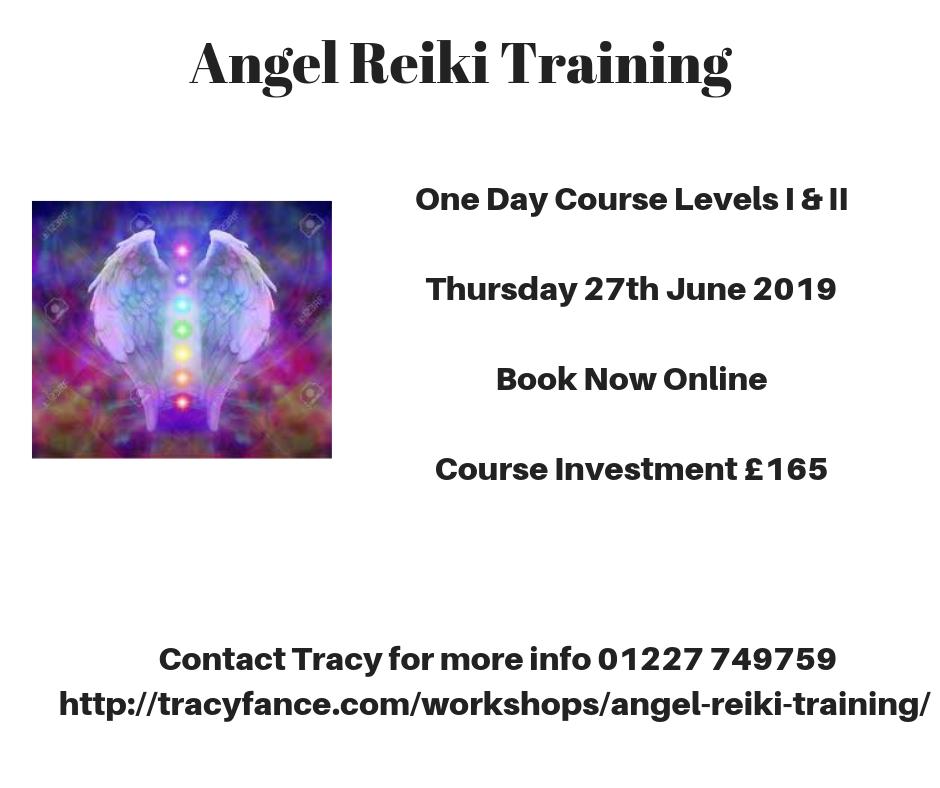 Angel Reiki Levels I & II with Tracy Fance
