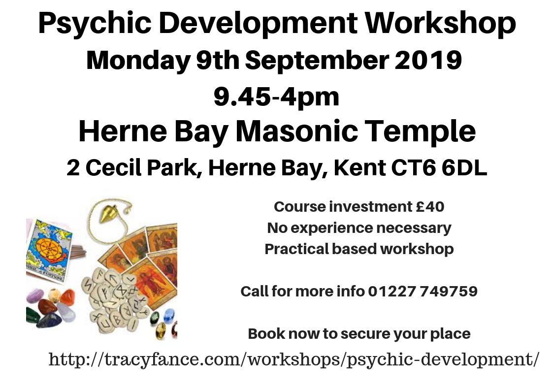 Psychic Development with Tracy Fance