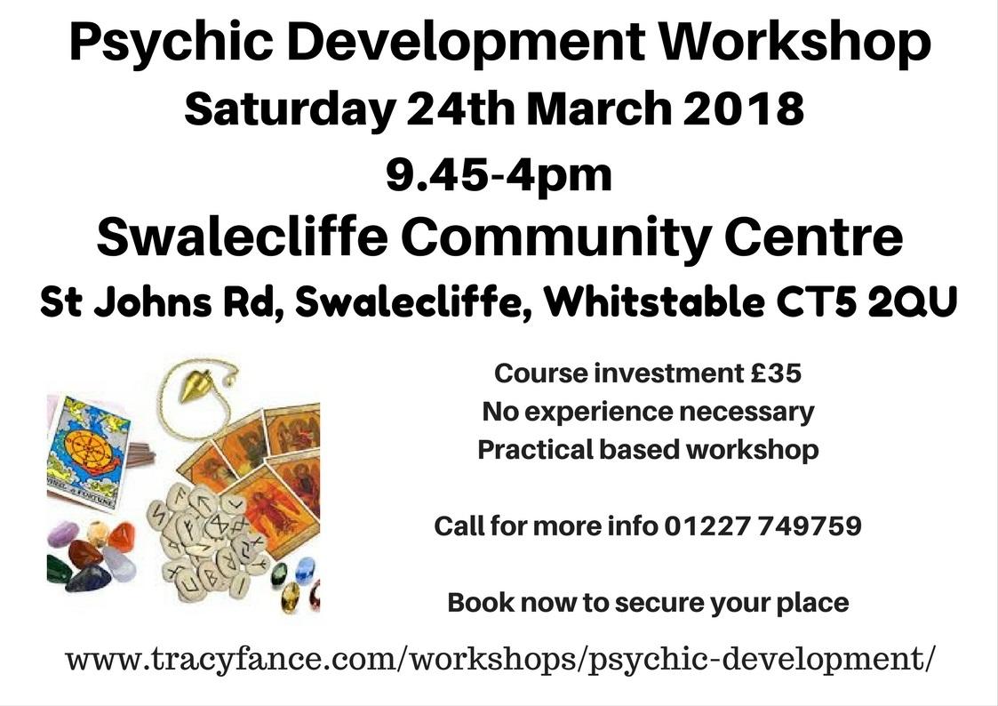 Psychic Development Poster