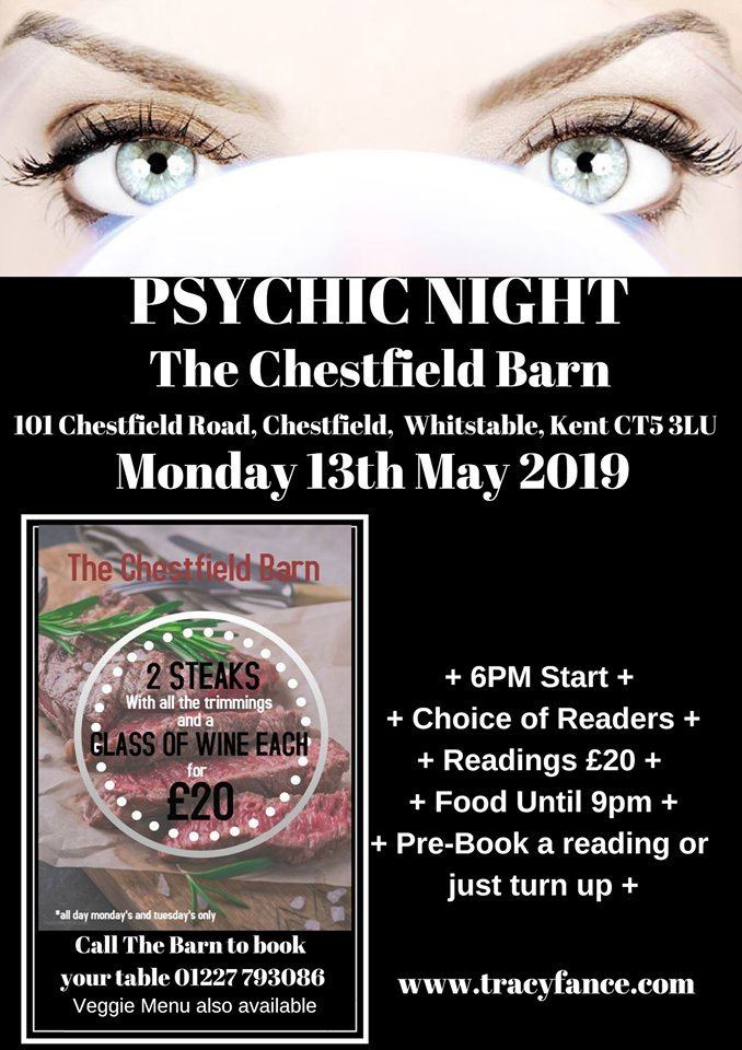 Psychic Night with Tracy Fance Poster