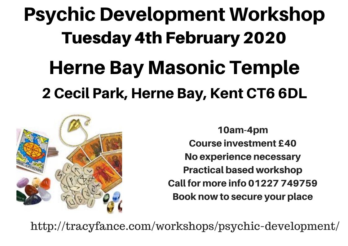 Psychic Development Workshop with Tracy Fance
