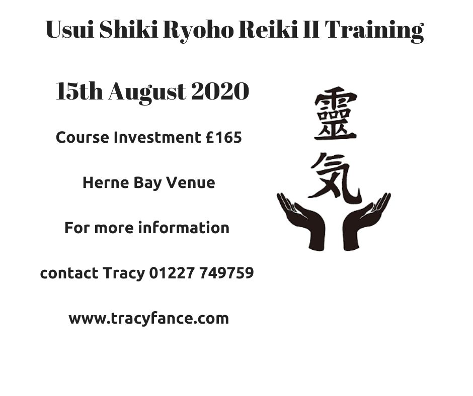 Usui Reiki II with Tracy Fance