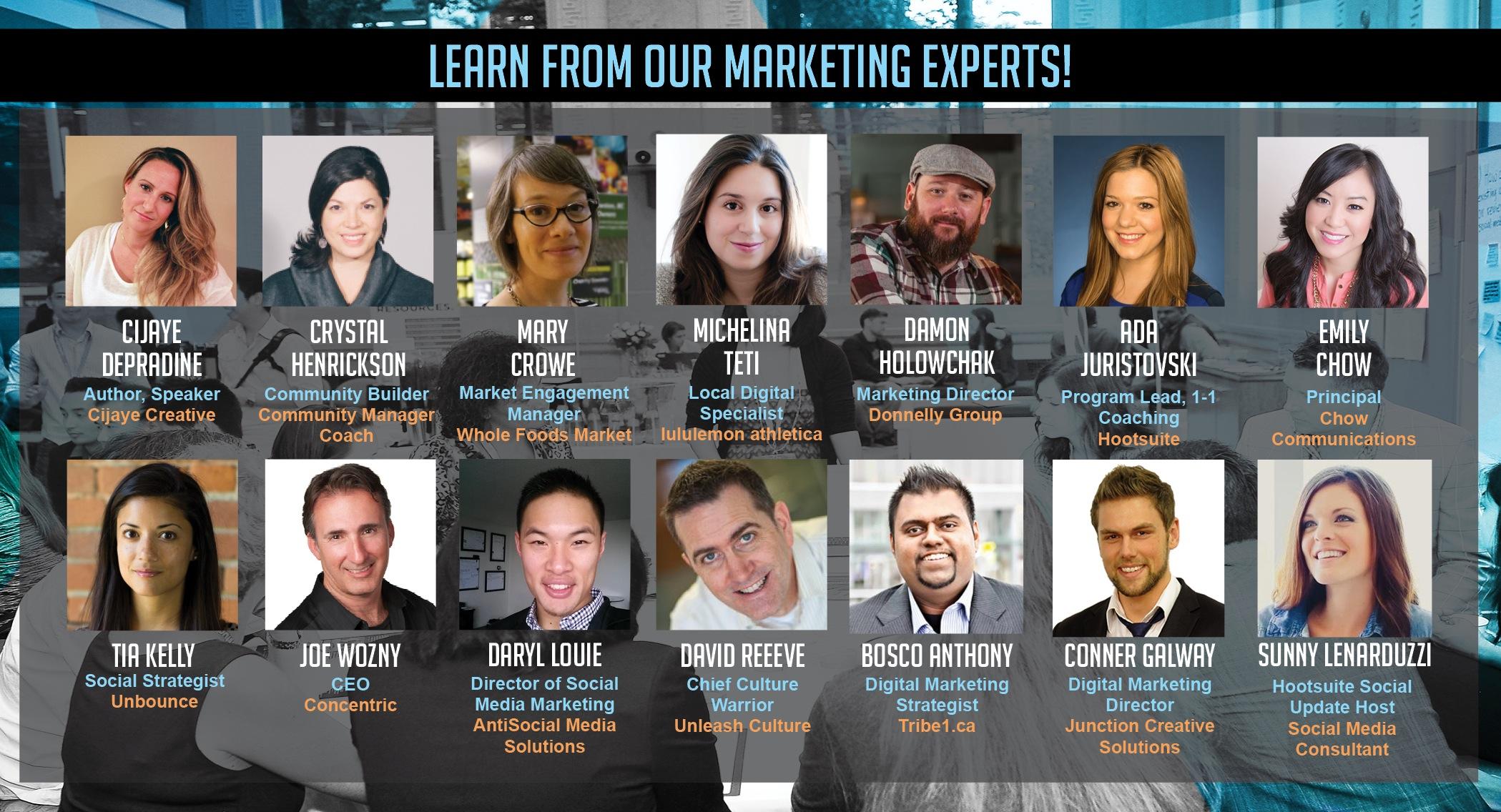 OMG Social Media Conference Speakers 2014