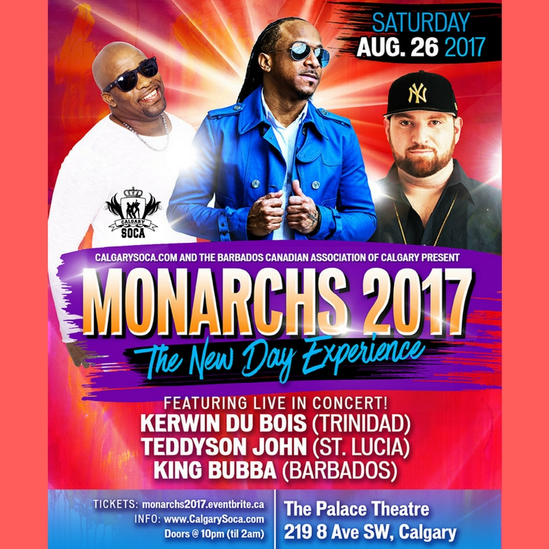 Monarchs 2017 performers and details