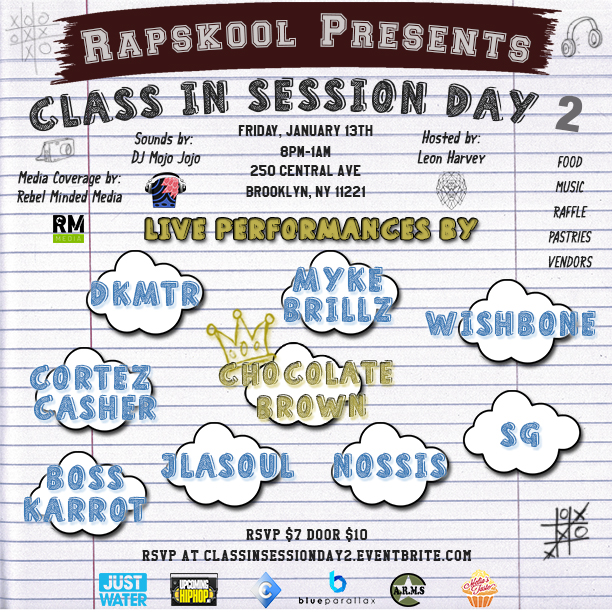 Class in Session Day 2 Flyer