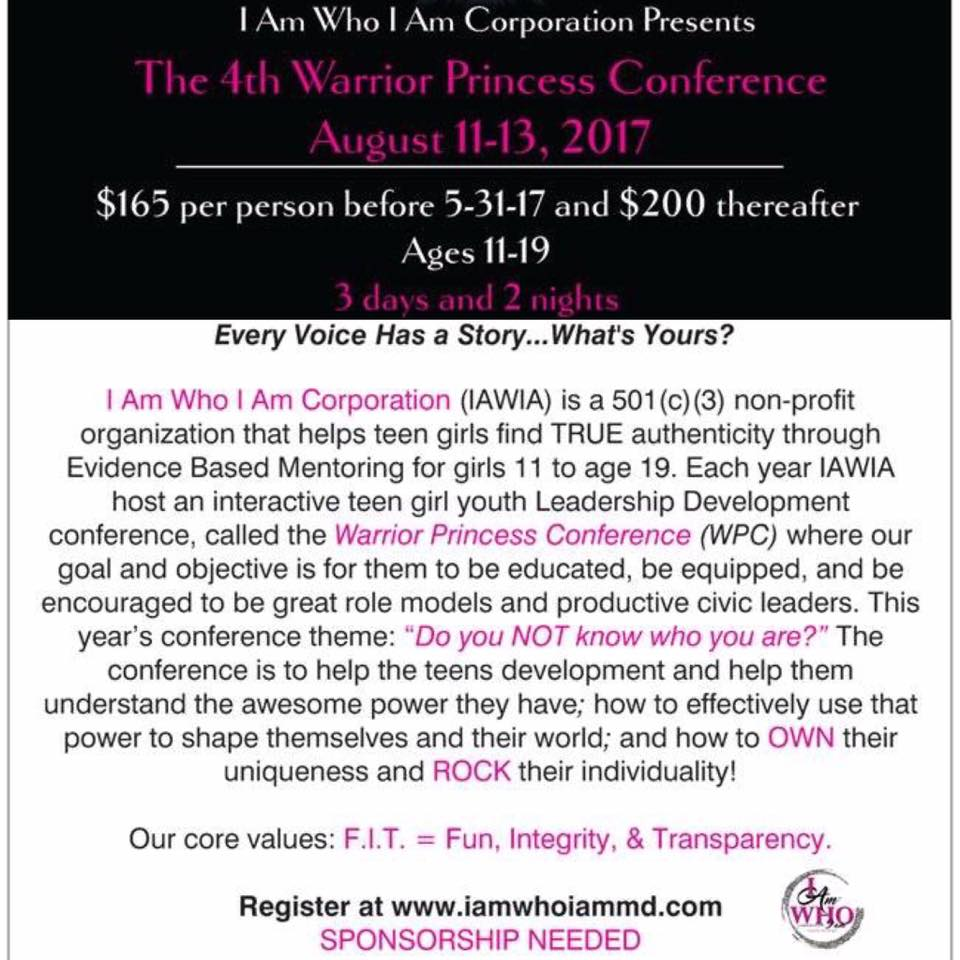 Warrior Princess Conference