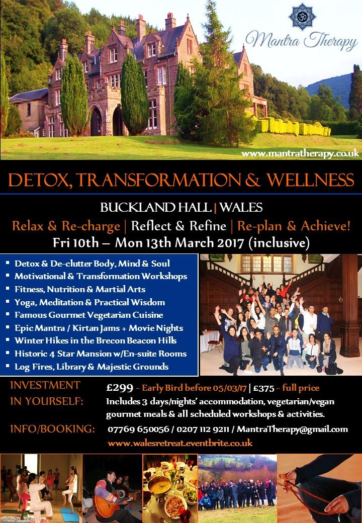 Buckland Hall 2017 Retreat