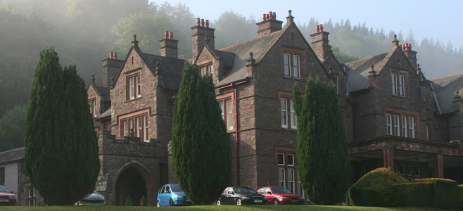Buckland Hall from the Grounds