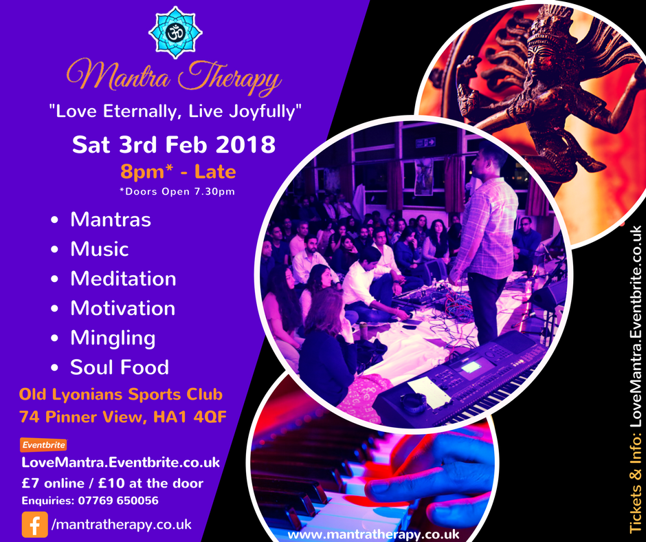 Mantra Therapy Valentine's Special 2018