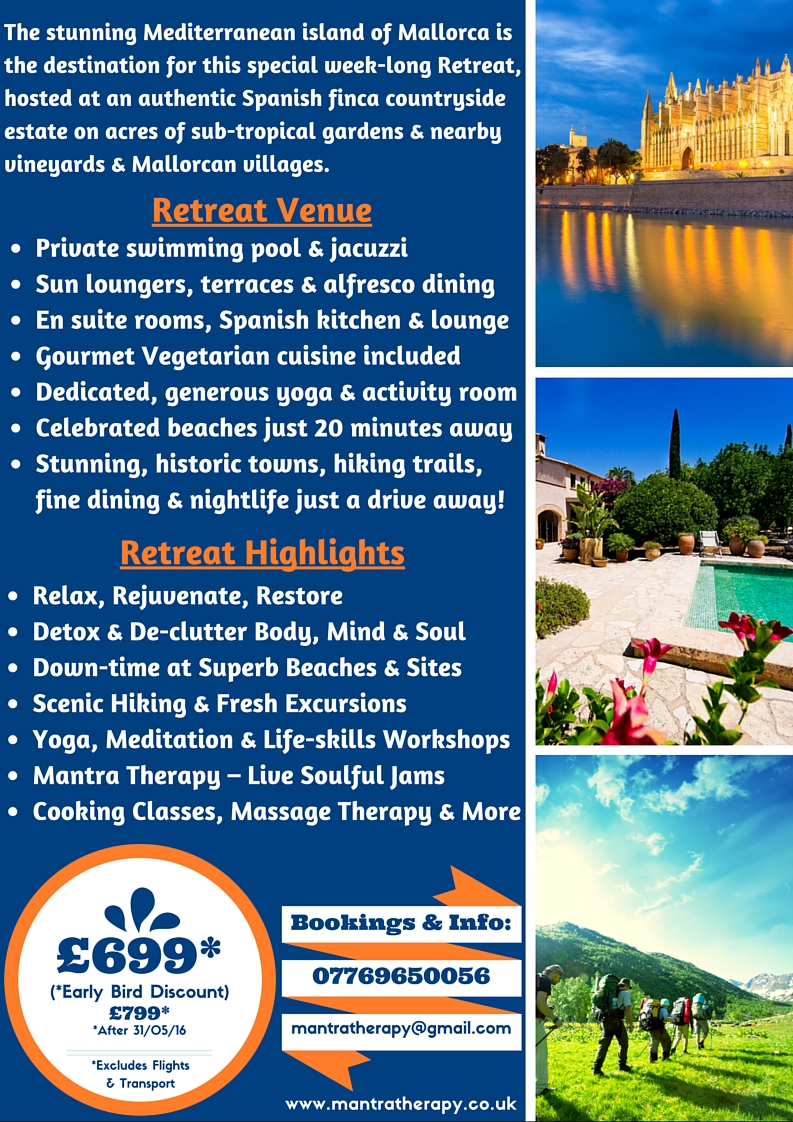 Mantra Therapy Mallorca Retreat Flyer Part 2