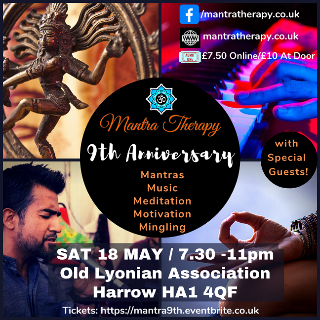 Mantra Therapy 9th Anniversary