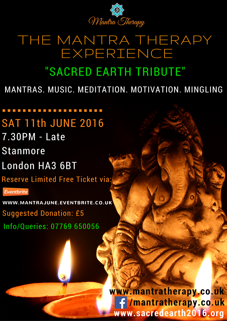 Mantra Therapy Flyer June 2016