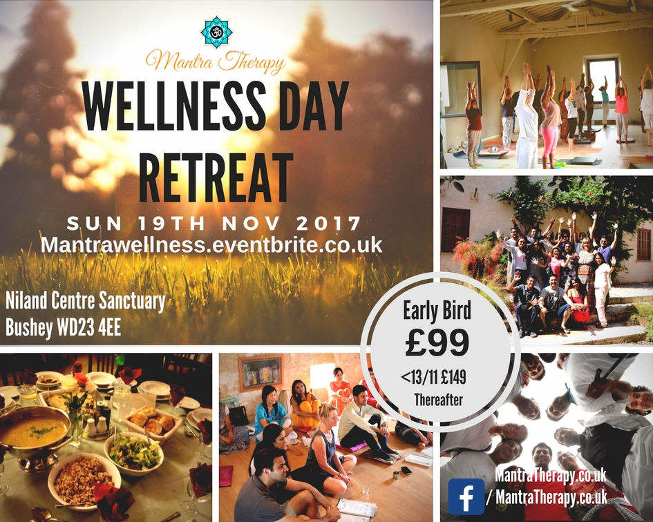 Mantra Therapy Wellness Day Retreat