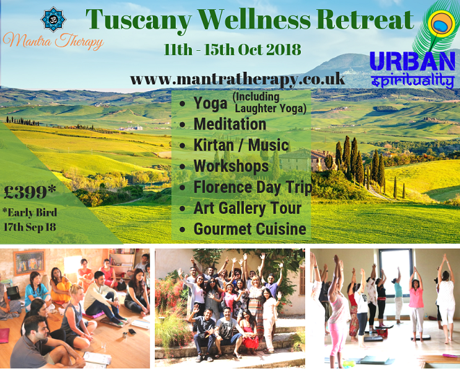 Tuscany Wellness Retreat 2018