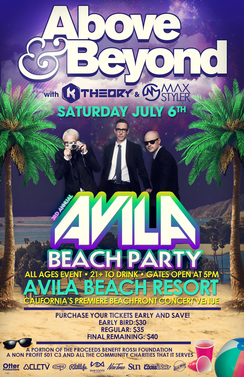 Above & Beyond at the Avila Beach Resort on Saturday, July 6, 2013