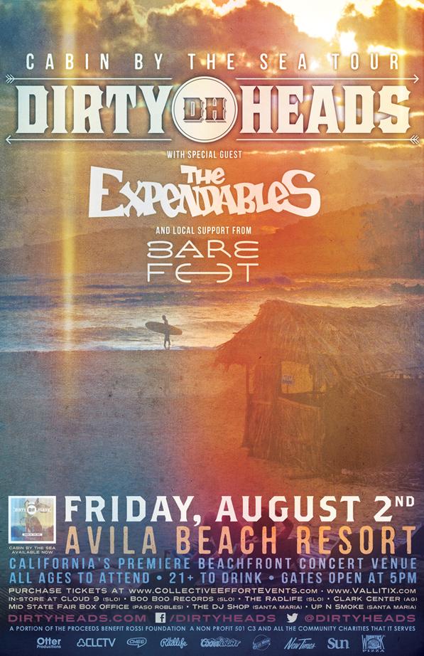 Dirty Heads & The Expendables - Avila Beach