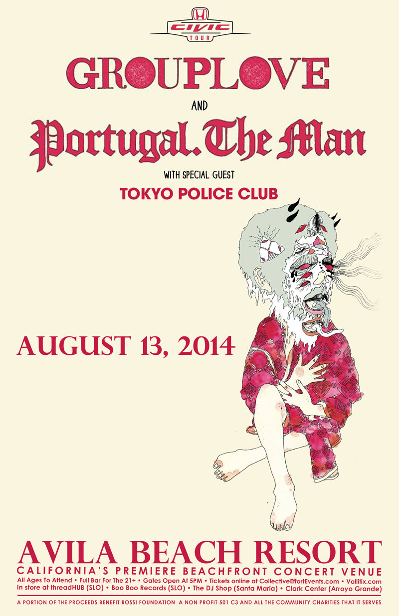 GROUPLOVE & Portugal. The Man • special guest Tokyo Police Club