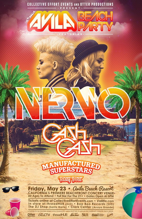Avila Beach Party 2014 - NERVO + Special Guests