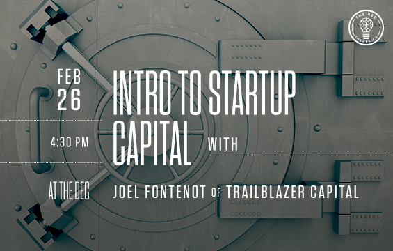 Intro to startup capital