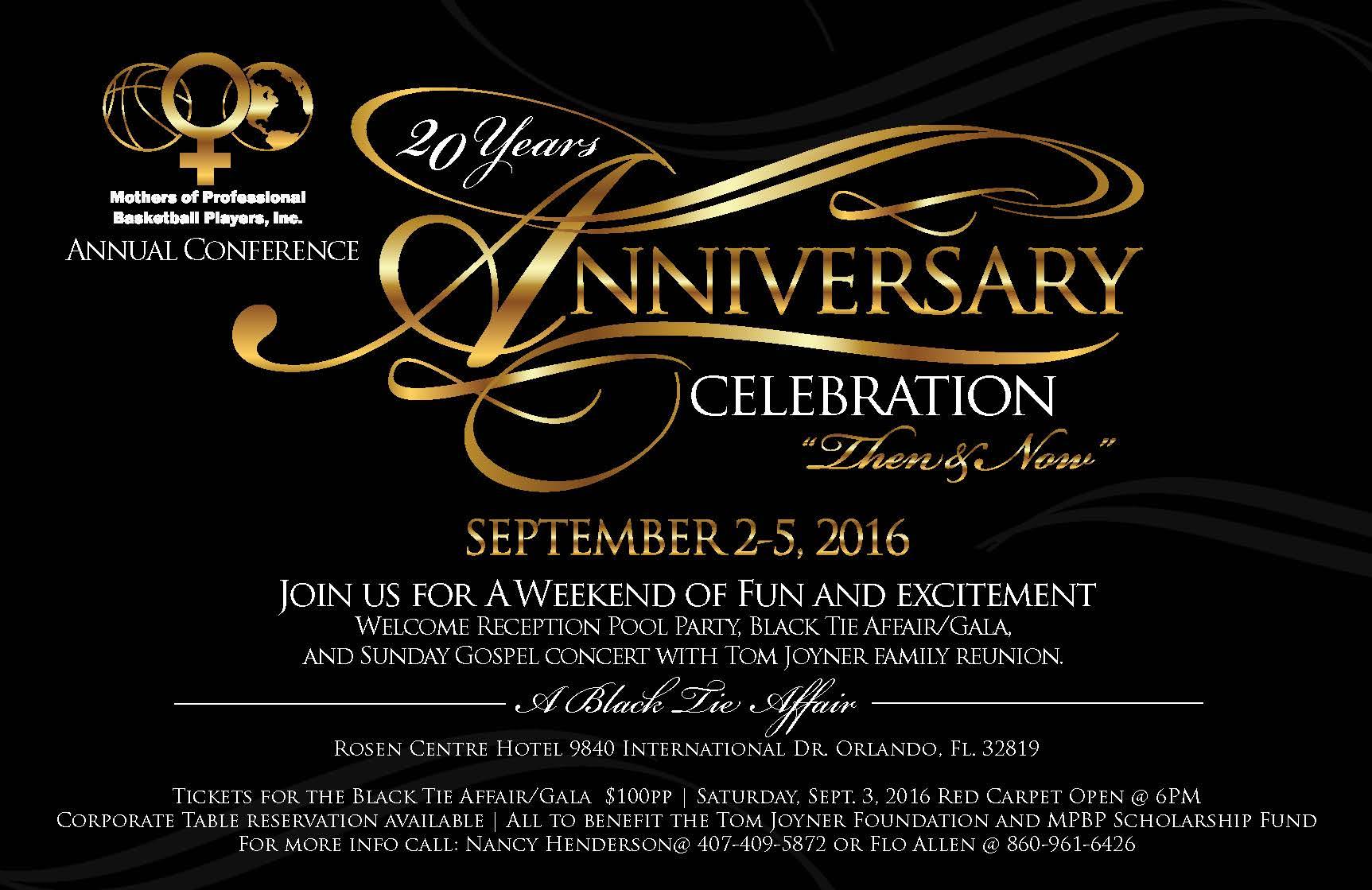 black tie event flyer