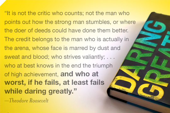 Daring Greatly Quote