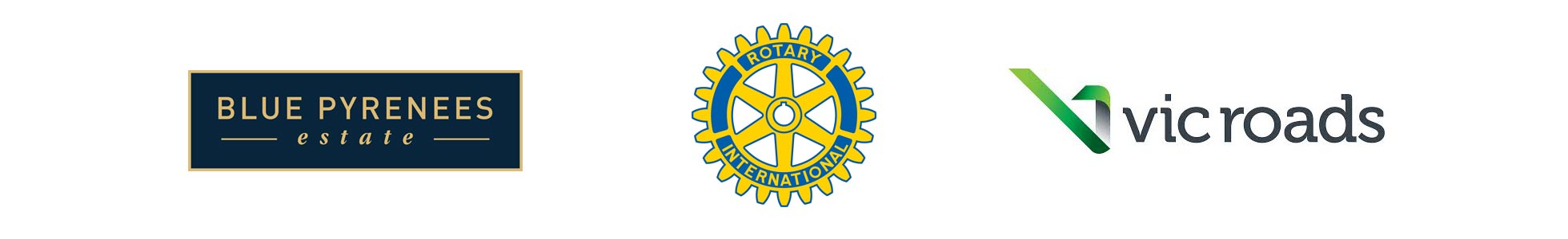 Blue Pyrenees | Rotary | Vicroads Event Sponsors