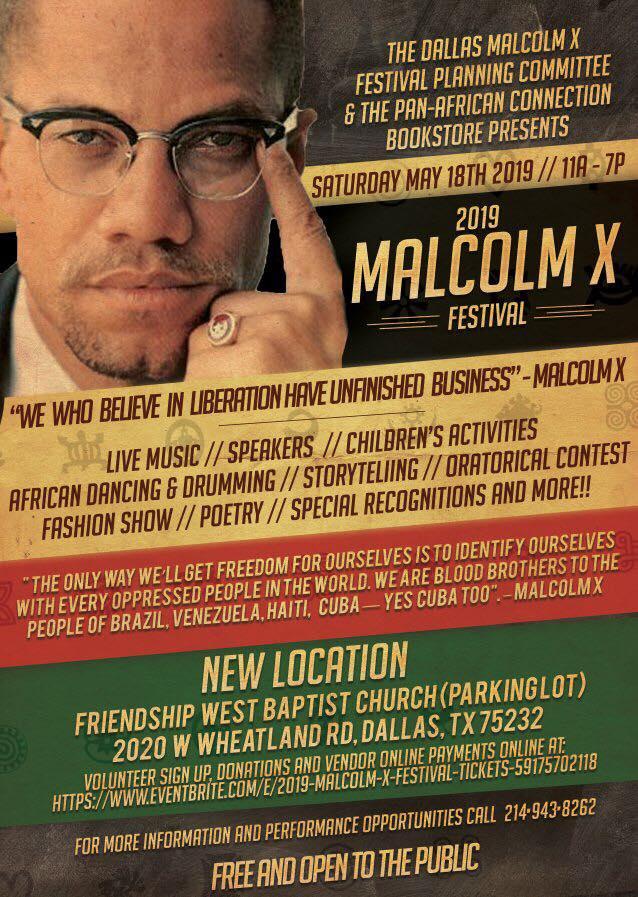 Malcolm X Flyer
