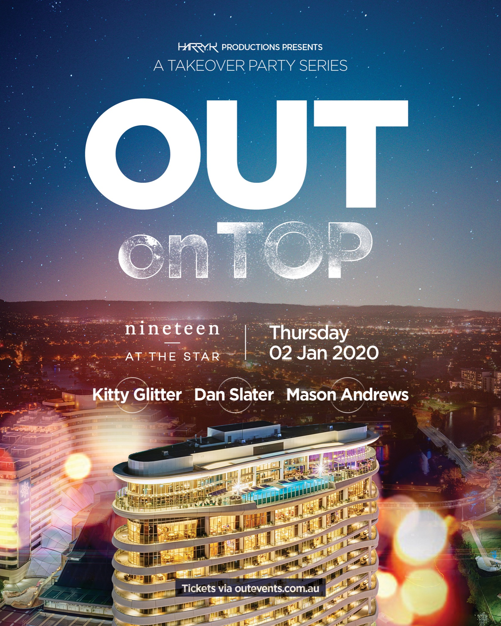 OUT On TOP | Nineteen At The Star Thursday 2nd Jan
