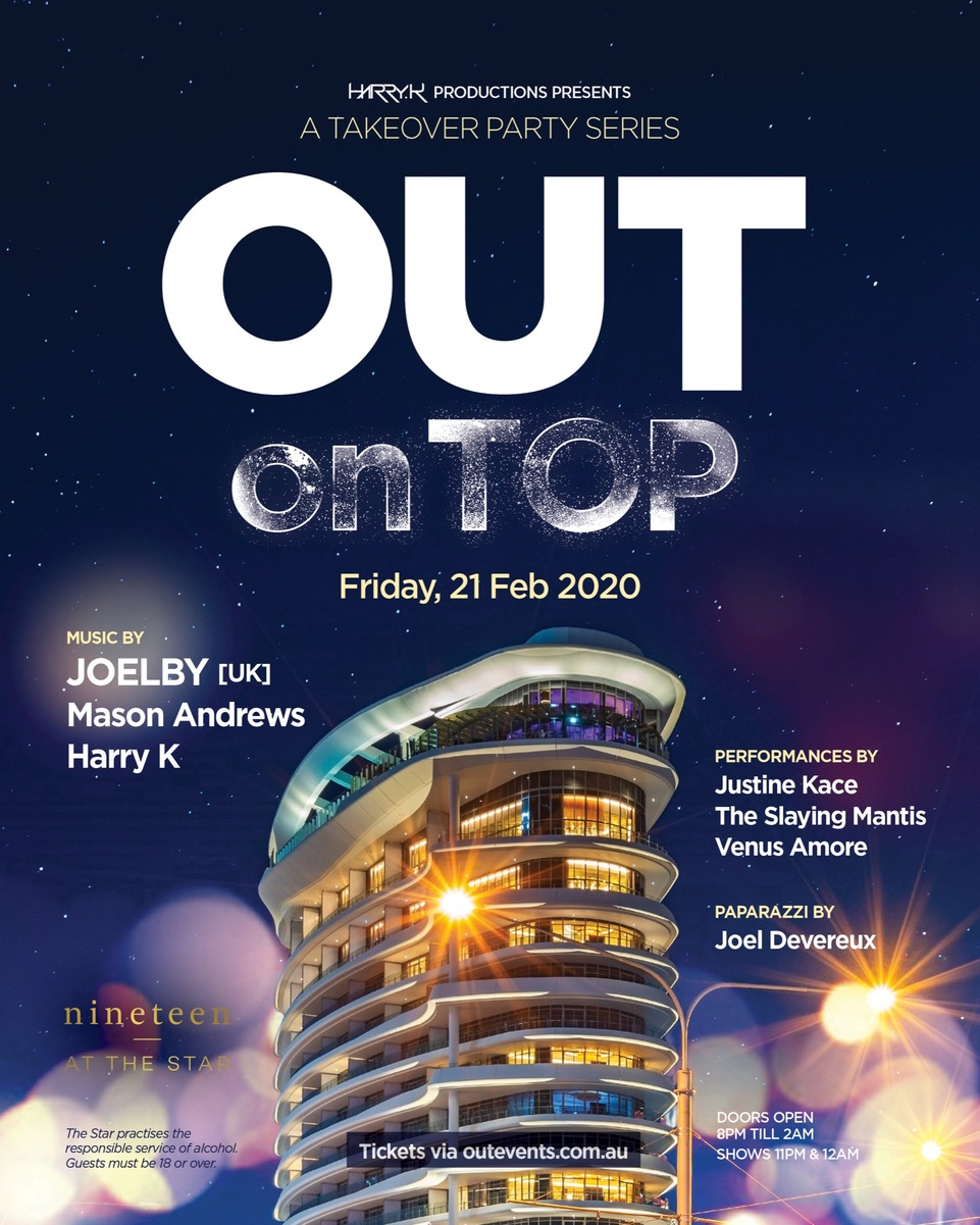 OUT on TOP | Nineteen At The Star On Friday 21st Feb 2020