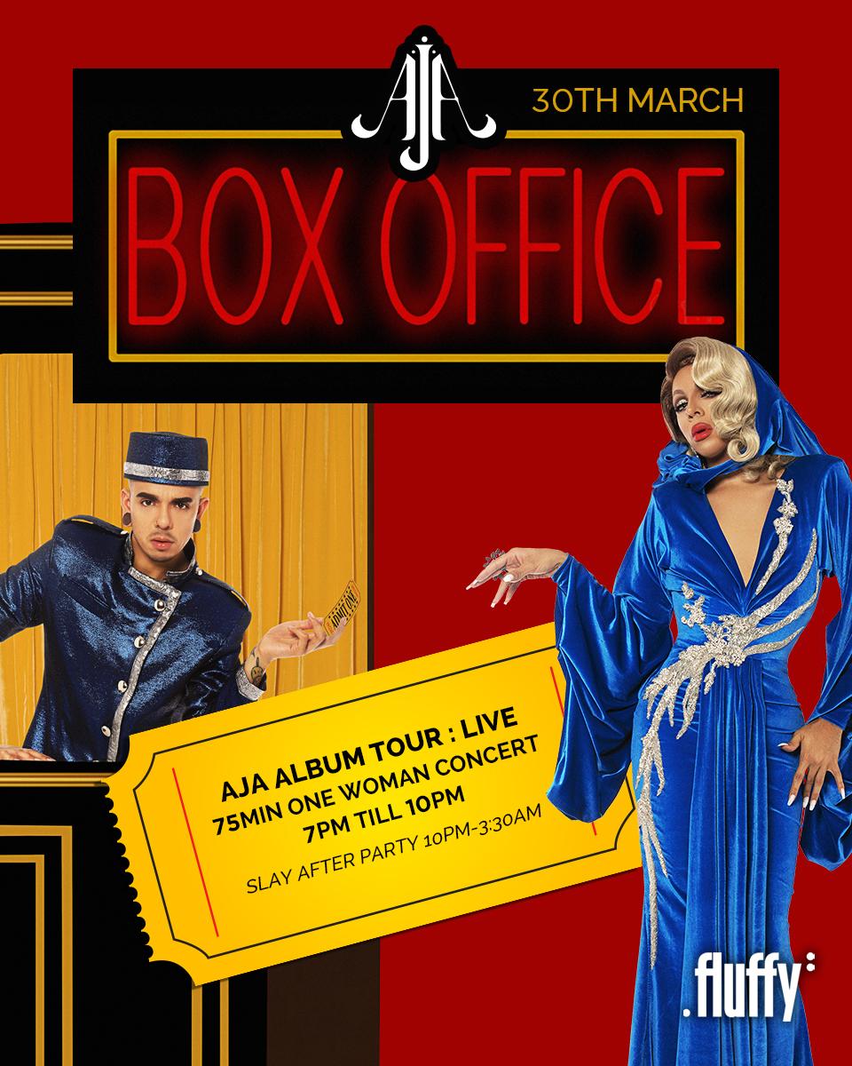 AJA | Box Office Tour @ The Family