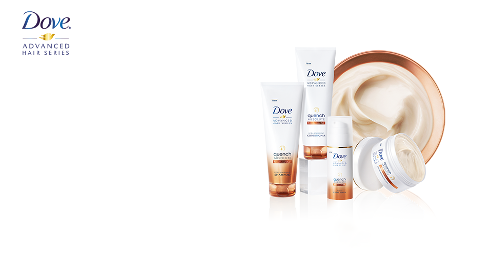 Dove Quench Absolute hair care