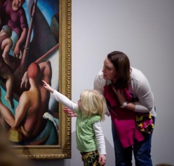 Exploring a Thomas Hart Benton painting