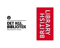 Royal Danish Library and British Library logos