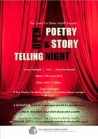 Open Poetry & Story-Telling Night