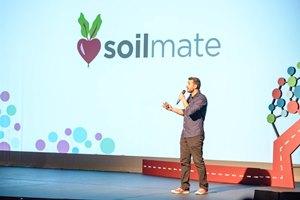 Matt Gomez, founder of SoilMate, pithces his social enterprise