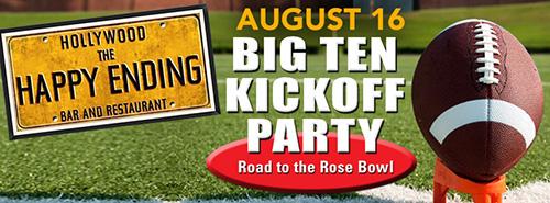 Big Ten Club Football Kickoff Party