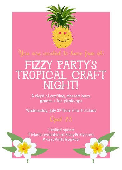 Fizzy Party Invitation