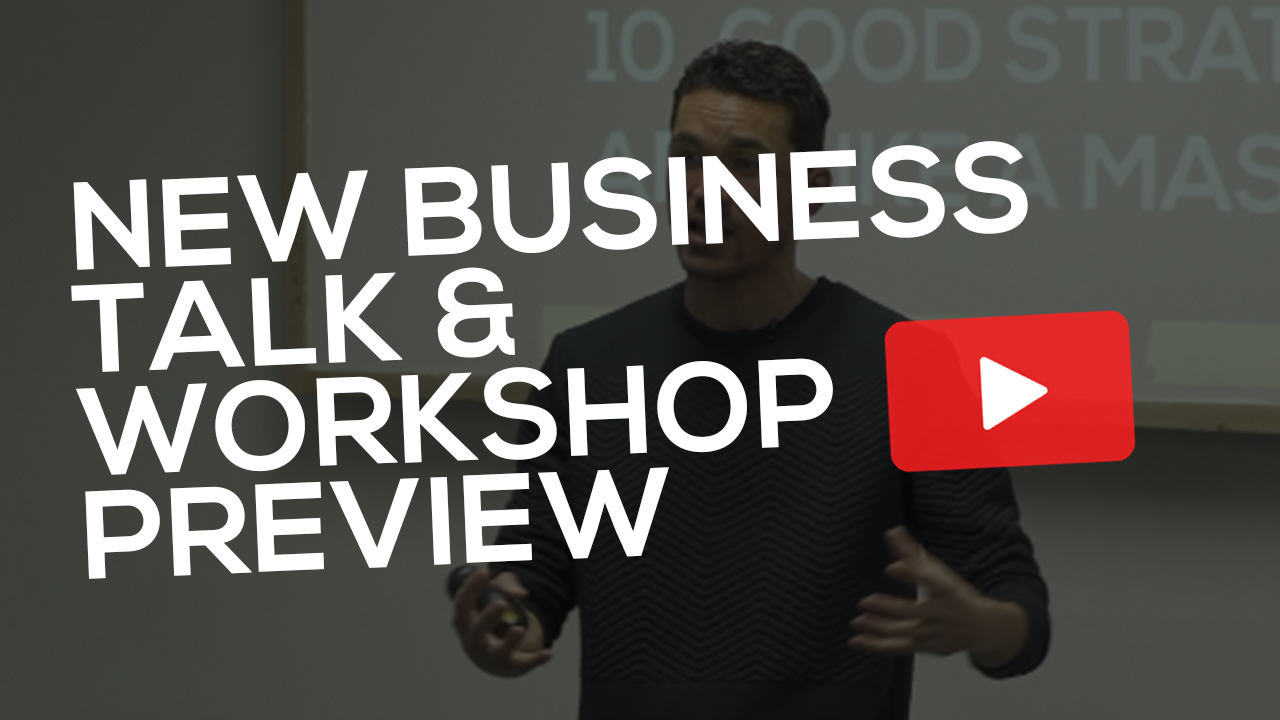 New Business Talk & Workshop