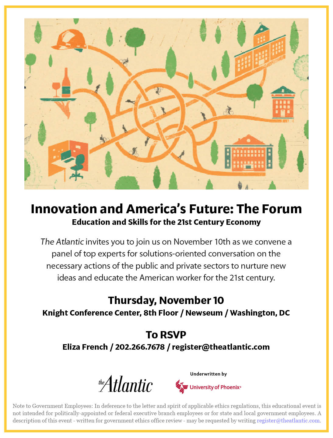 The Atlantic Innovation + America's Future Forum