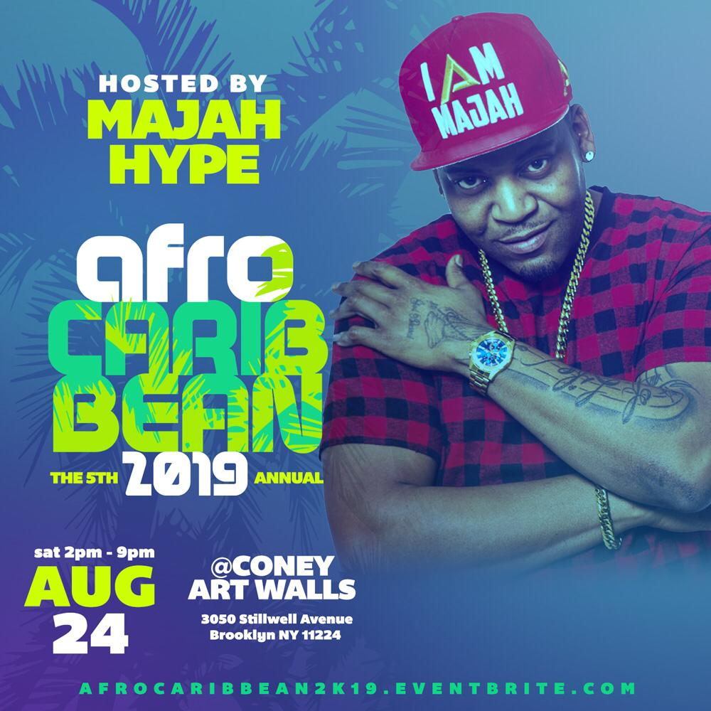 AFRO-CARIBBEAN 2K19 HOSTED BY MAJAH HYPE  LIVE PERFORMANCE